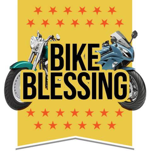 Bike Blessing - Palm Sunday